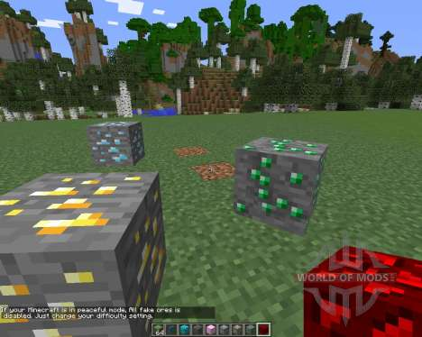 Fake (Monster) Ores pour Minecraft