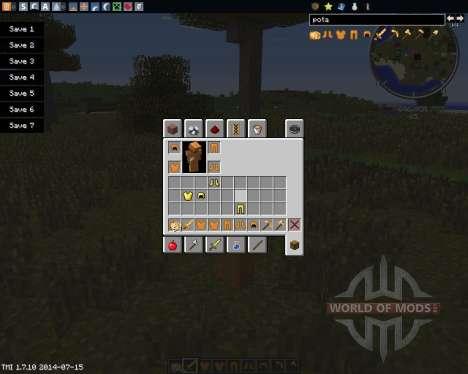 Potatoes pour Minecraft