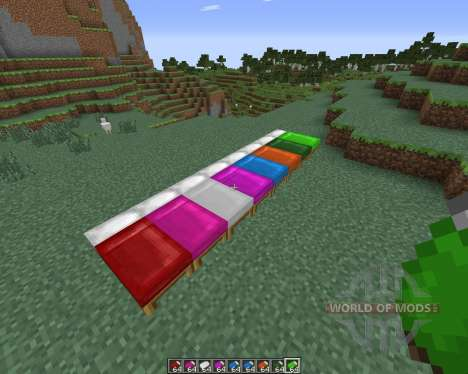 Dyeable Beds pour Minecraft