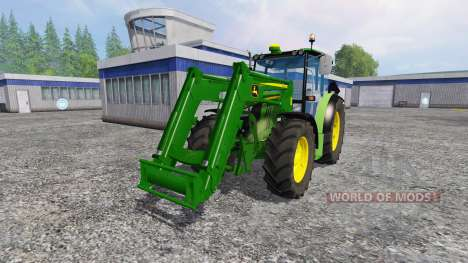 John Deere 6110RC Full pour Farming Simulator 2015