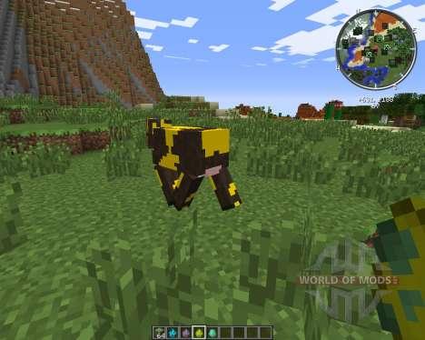 Elemental Cows pour Minecraft