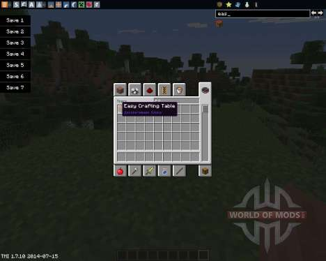 Easy Crafting für Minecraft