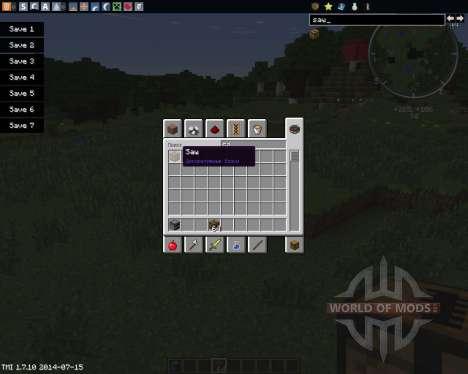 MC Saw für Minecraft