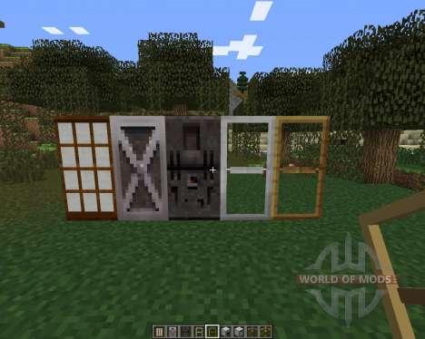 MalisisDoors für Minecraft