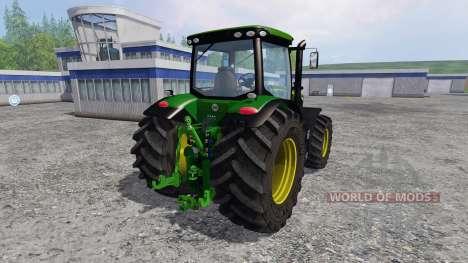 John Deere 7310R v2.1 für Farming Simulator 2015