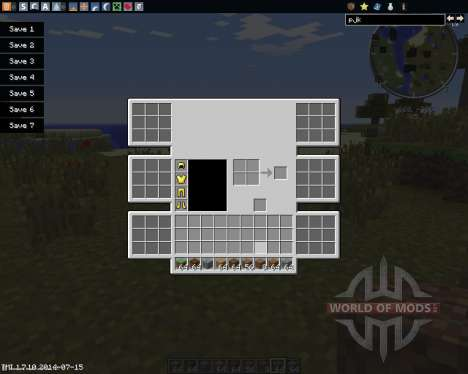 Advanced Inventory pour Minecraft