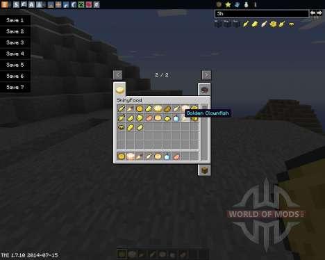 ShinyFood pour Minecraft