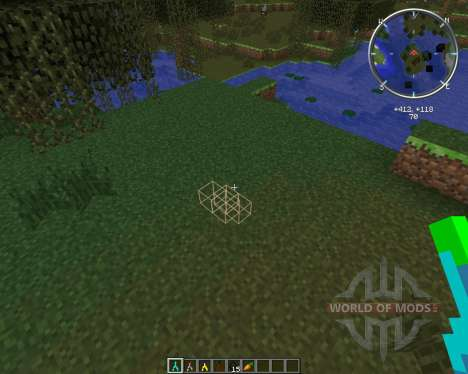 Ore Dowsing pour Minecraft