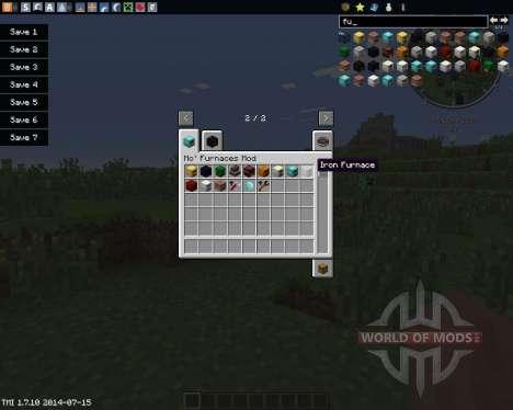 More Furnaces für Minecraft