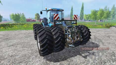 New Holland T9.560 with dynamic twin wheels pour Farming Simulator 2015
