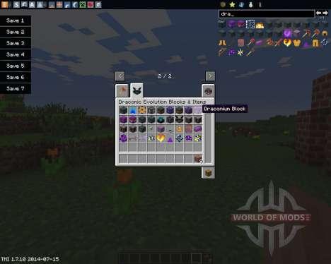Draconic Evolution pour Minecraft