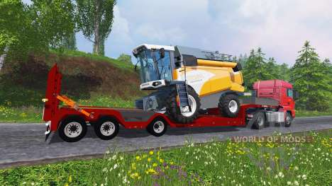 Kaiser Porte Engin Forestier pour Farming Simulator 2015