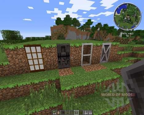 Malisis Doors pour Minecraft