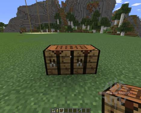 Extended Workbench pour Minecraft