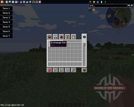Exchange Orb für Minecraft