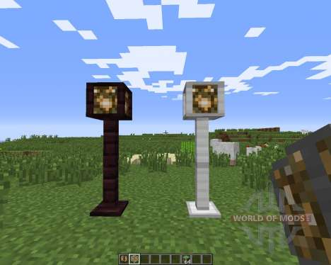 Lamp Posts pour Minecraft