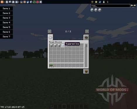 Road Blocks für Minecraft