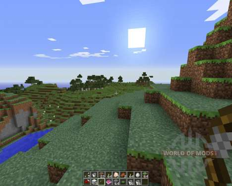 Dual Hotbars pour Minecraft