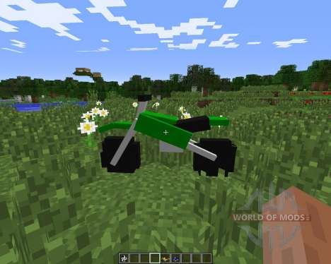 The Dirtbike pour Minecraft