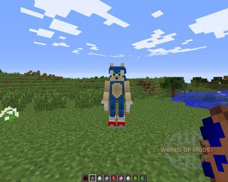 Sonic The Hedgehog pour Minecraft