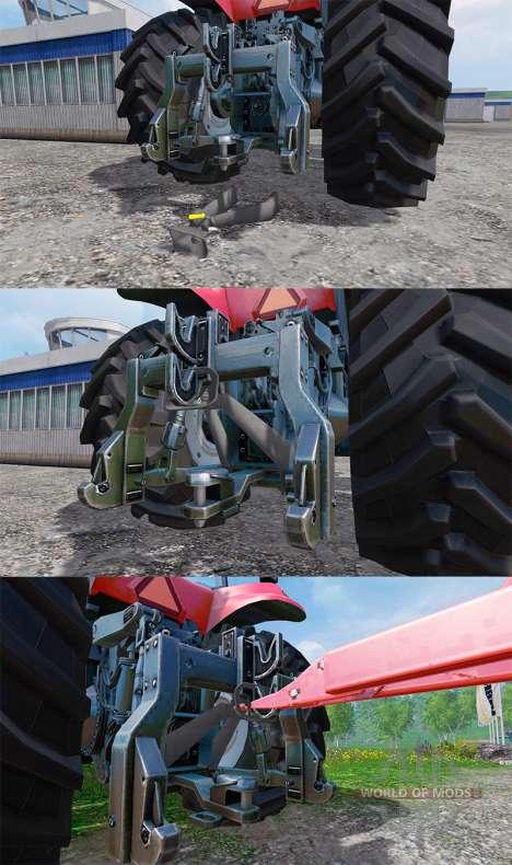 Supplémentaire d'attelage pour Farming Simulator 2015