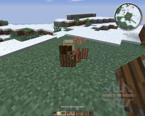 SnapDoors pour Minecraft