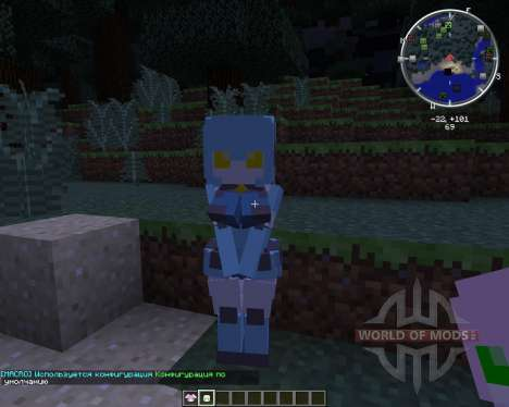 LovelyRobot pour Minecraft