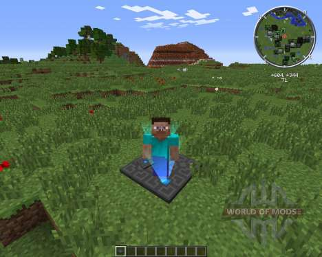 XPTeleporters pour Minecraft