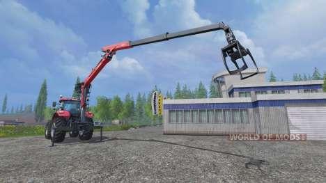 L'hydraulique de la grue Palfinger Epsilon M80F pour Farming Simulator 2015