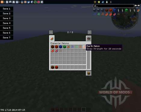 Elemental Melons für Minecraft