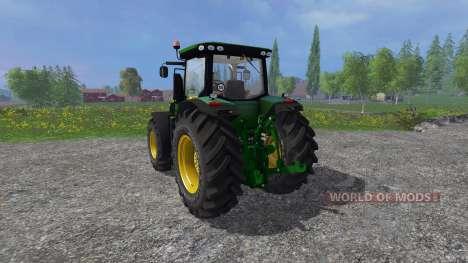 John Deere 7280R v2.0 pour Farming Simulator 2015