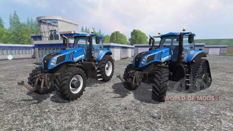 New Holland T8.320 and T8.435 SmartTrax pour Farming Simulator 2015