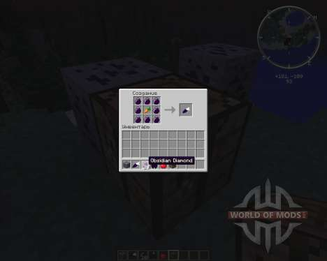 Obsidian Ores pour Minecraft