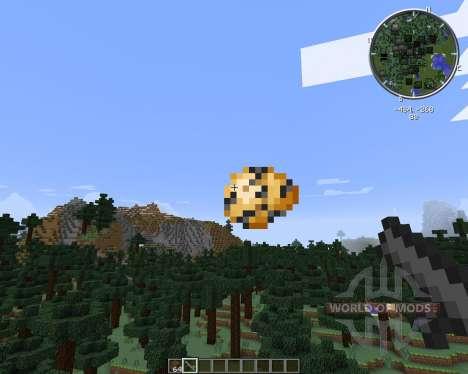 Potato Gun pour Minecraft