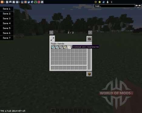 Magic Wands für Minecraft