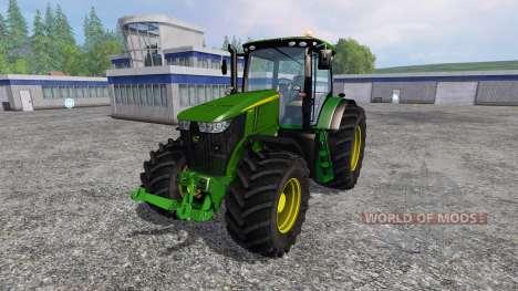 John Deere 7310R v2.1 pour Farming Simulator 2015
