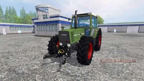 Fendt Farmer 310 LSA v2.0 pour Farming Simulator 2015