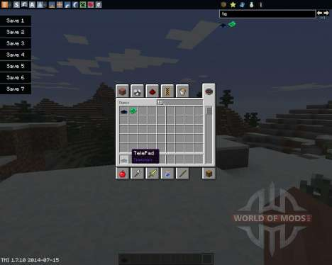 TelePads pour Minecraft