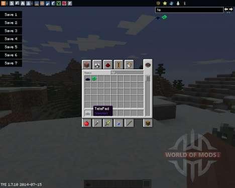 TelePads für Minecraft