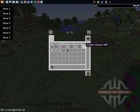 DNA für Minecraft