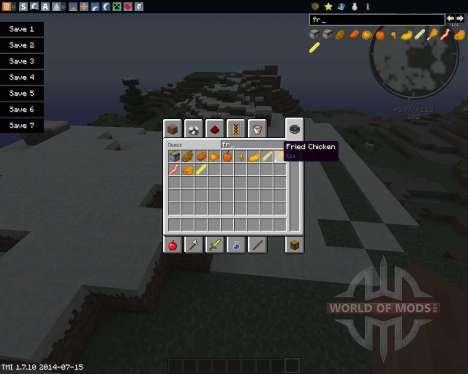 Fry The World für Minecraft