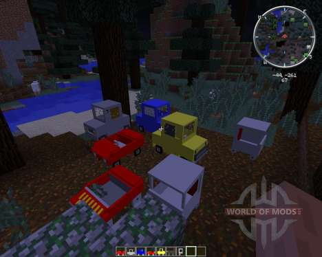 Cars and Drives pour Minecraft