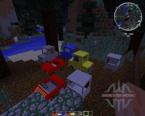 Cars and Drives für Minecraft