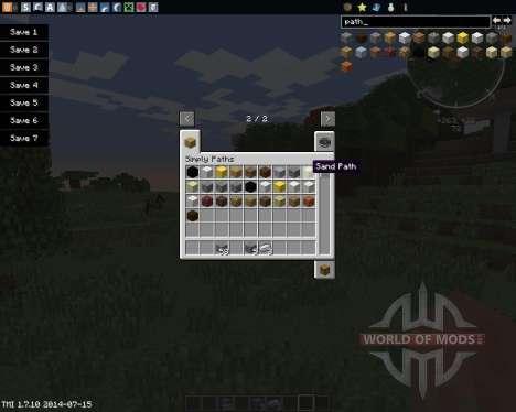 Simply Paths für Minecraft