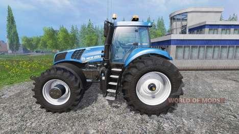 New Holland T8.320 600EVOX v1.11 blue für Farming Simulator 2015