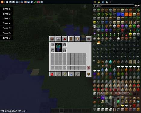 Drop Items Forever pour Minecraft