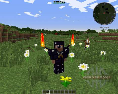 Emerald and Obsidian Tools für Minecraft