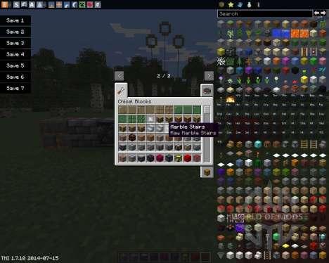 Chisel pour Minecraft