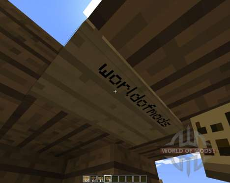 FlatSigns pour Minecraft