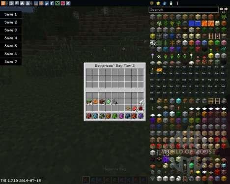 Bagginses für Minecraft